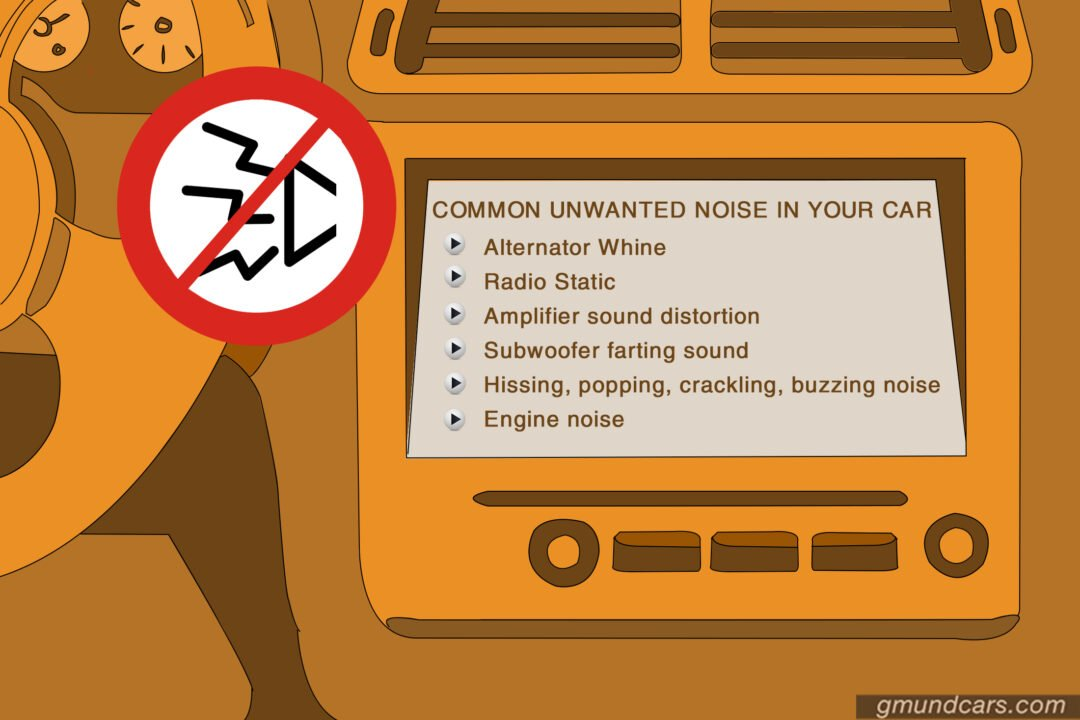 unwanted noise in your car