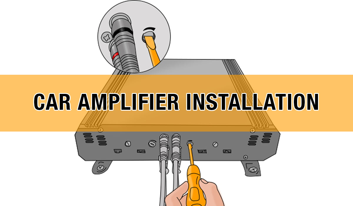 car amplifier installation