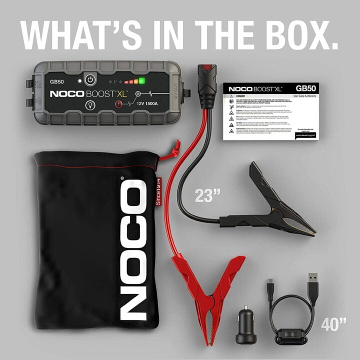 noco gb50 unboxing