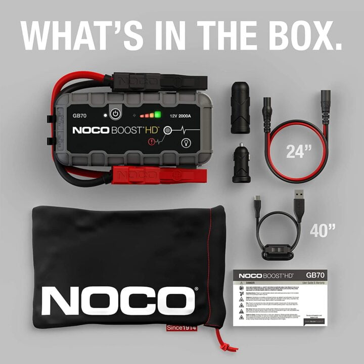 noco gb70 unboxing