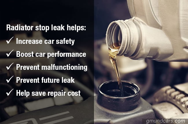 benefits of radiator stop leak