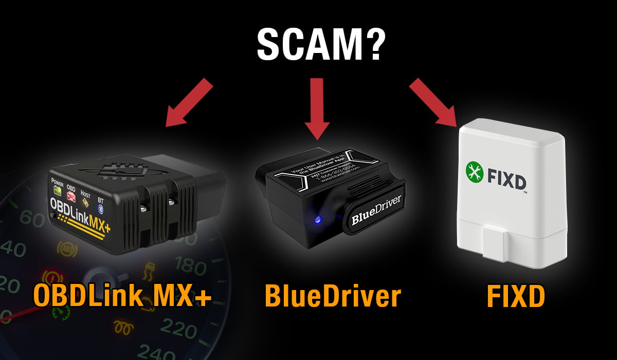 obdlink mx+ vs. bluedriver vs .fixd